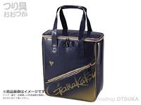 がまかつ トートバッグ - GM-3586 #ブルー/ゴールド
