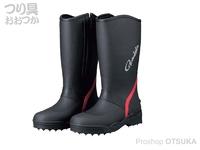 がまかつ スパイクブーツ - GM-4528 #ブラック サイズ L