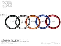 がまかつ ラグゼ ラウンド カラビナ - LE-102 #ブルー 50mm