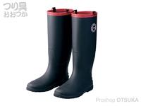 がまかつ パッカブルブーツ - GM-4527 # ブラック Mサイズ 24.5-25.0cm