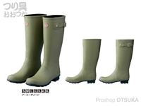 がまかつ レインブーツ - GM-4529 #アーミーグリーン L(25.5~26.0cm)