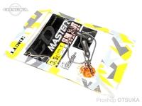 がまかつ LDM(リーダーレスダウンショットマスター) - スリムショット 鉛 -. フックサイズ1  3.5g