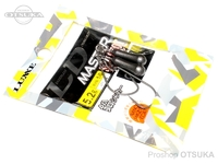がまかつ LDM(リーダーレスダウンショットマスター) - スリムショット 鉛 -. フックサイズ1/0 5.2g