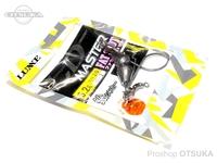 がまかつ LDM(リーダーレスダウンショットマスター) - ファットショット 鉛 -. フックサイズ2/0 5.2g