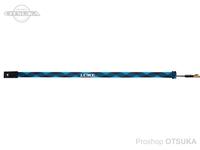 がまかつ ラグゼ ロッドソックス - LE-201 #ブラック/シアンブルー スピニングタイプ 150×5cm