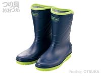 がまかつ ショートブーツ - GM-4530 #ネイビー サイズ L(25.5-26.0cm)