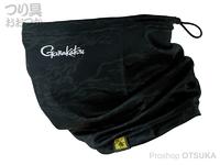 がまかつ ノーフライゾーン ネック&フェイスカバー - GM-3668 # ブラックカモフラージュ フリーサイズ