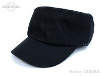 がまかつ WPワークキャップ - LE9007 #ブラック フリーサイズ