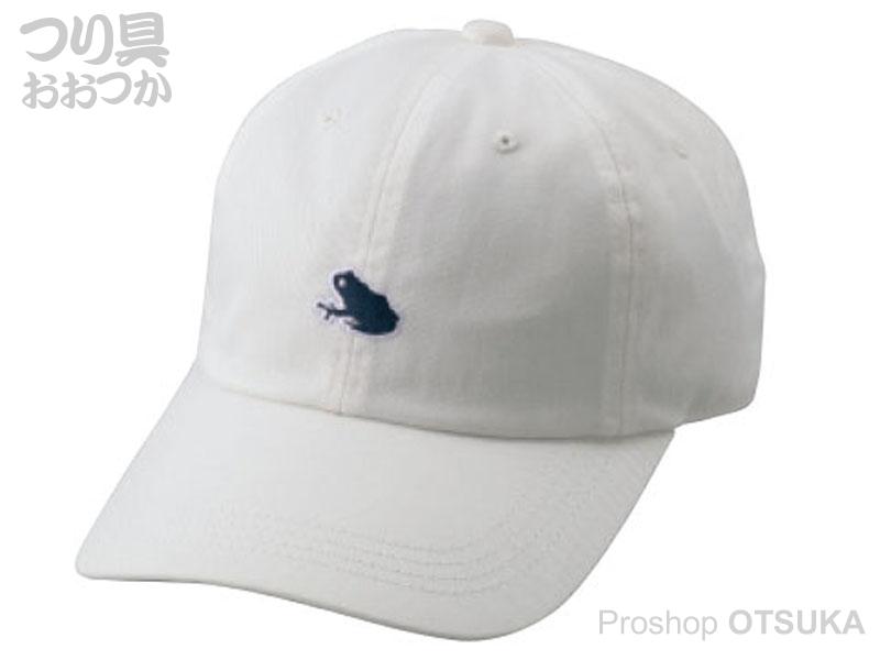 がまかつ キャップ GM-9851 サイズ M #ホワイト(カエル)