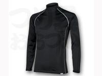 リベルタ フリーズテック - 冷却インナーシャツ長袖 ローネック #ブラック Lサイズ