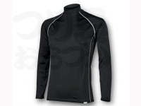 リベルタ フリーズテック - 冷却インナーシャツ長袖 ローネック #ブラック XLサイズ
