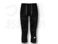 リベルタ フリーズテック - 冷却インナーパンツ 7分丈 #ブラック サイズ2XL