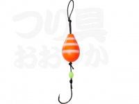ダイワ 穴釣り専科 -  アナヅリーSS オレンジゼブラグロー 2号 約8g 2個入り