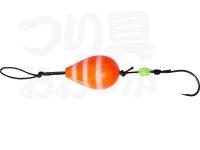 ダイワ 穴釣り専科 -  アナヅリーSS オレンジゼブラグロー 5号 約19g 2個入り