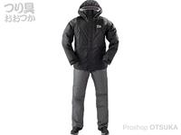 ダイワ レインマックス ウインタースーツ - DW-35009 #ブラック Lサイズ