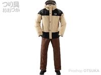 ダイワ レインマックス ウインタースーツ - DW-35009 サンドベージュ XLサイズ