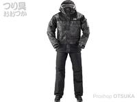 ダイワ レインマックス ウインタースーツ - DW-35009 #ブラックカモ Mサイズ