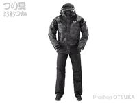 ダイワ レインマックス ウインタースーツ - DW-35009 #ブラックカモ Lサイズ
