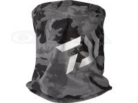 ダイワ クールネック&フェイスカバー - DA-97009 # ブラックカモ フリーサイズ