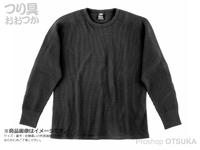 ダイワ サーマルワッフル - DE-65009 #ブラック Mサイズ