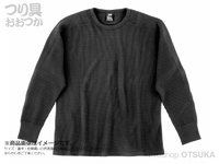 ダイワ サーマルワッフル - DE-65009 #ブラック XLサイズ