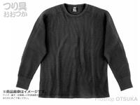 ダイワ サーマルワッフル - DE-65009 #ブラック 2XLサイズ