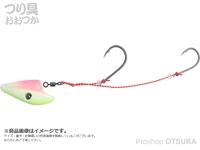 ダイワ 紅牙 - 遊動テンヤSSラトルダンス #夜光キャンディ 8号
