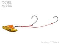 ダイワ 紅牙 - 快適マイクロテンヤSS #ケイムラ オレンジ/金 15号