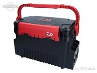 ダイワ タックルボックス - TB4000 #ブラック/レッド サイズ 43.4×23.3×27.1cm