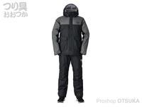 ダイワ レインマックス ウインタースーツ - DW-3520 #ブラック XLサイズ
