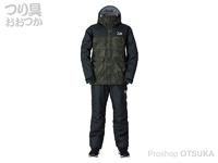 ダイワ レインマックス ウインタースーツ - DW-3520 #グリーンカモ XLサイズ
