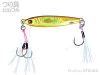 ダイワ ソルティガ - CVジグSLJ #MG赤金 8.7cm 80g