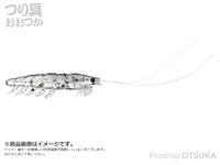 ダイワ 快適リアルオキアミワーム -  #ケイムラシラサ LL(48mm)