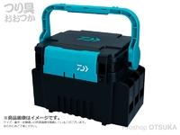 ダイワ タックルボックス - TB3000 #ブラック/グリーン サイズ 31.3×23.3×22.2cm