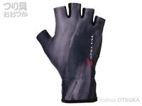 ダイワ スペシャル 手甲グローブ - DG-6221 # ブラック Lサイズ 25-26cm