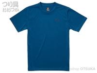 ダイワ ショートスリーブフィールアライブティーシャツ - DE-8321 #マリンブルー Mサイズ