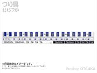 ダイワ CPメジャーステッカー - ロング #ブルー 長さ85cmまで測定可能