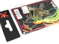 LSDデザイン スピナーベイト - スタンガンジュニア #04 ホットタイガー 1/8oz タンデムウィロー
