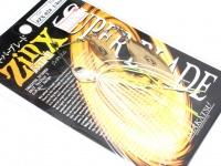 イマカツ IKジンクス - ミニスーパーブレードTG 1/4OZ #ZX-024 マディークリスタル 1/4oz ダブルウィロー