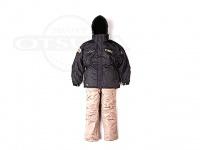 オレンジブルー オールウェザースーツ - 5052 # ブラック LLサイズ 上下セット