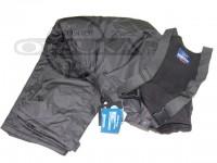 オレンジブルー 防寒ウェア - ウィンターサロペットパンツ ブラック サイズ L