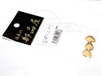 日本の部品屋 ブレード - コロラド型 #ゴールド #0 ブラス製