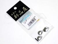 日本の部品屋 ブレード - コロラド型 #シルバー #0 ブラス製
