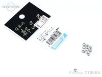日本の部品屋 ワッシャー - カップ #シルバー サイズ 4.5×1.6H×1.6