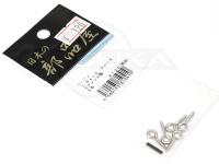 日本の部品屋 ヒートン -  クローズ #シルバー サイズ 1.6×15mm