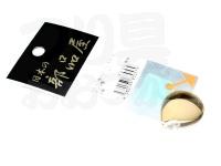 日本の部品屋 ブレード - コロラド型 #ゴールド #4 ブラス製