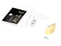 日本の部品屋 ブレード - ウィロー型 #ゴールド #3.5 ブラス製