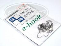 ティモン eフック -  ガンメタ サイズ 6 15本入り