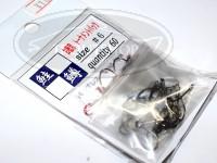 ティモン eフック -  ガンメタ サイズ 6 60本入り