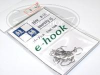 ティモン eフック -  ガンメタ サイズ 10 15本入り